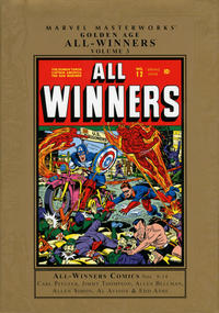 Cover Thumbnail for Marvel Masterworks: Golden Age All-Winners Comics (Marvel, 2005 series) #3 [Regular Edition]