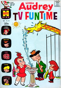 Cover Thumbnail for Little Audrey TV Funtime (Harvey, 1962 series) #10