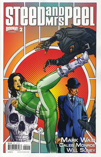 Cover Thumbnail for Steed and Mrs. Peel (Boom! Studios, 2012 series) #2 [Cover A Drew Johnson]