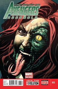 Cover Thumbnail for Avengers Assemble (Marvel, 2012 series) #13 [Nic Klein Cover]