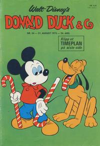 Cover Thumbnail for Donald Duck & Co (Hjemmet / Egmont, 1948 series) #34/1973