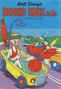 Cover Thumbnail for Donald Duck & Co (Hjemmet / Egmont, 1948 series) #35/1973