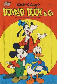 Cover Thumbnail for Donald Duck & Co (Hjemmet / Egmont, 1948 series) #36/1973