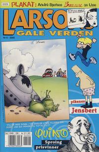 Cover Thumbnail for Larsons gale verden (Bladkompaniet / Schibsted, 1992 series) #6/2000