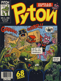 Cover Thumbnail for Pyton (Bladkompaniet, 1988 series) #11/1993