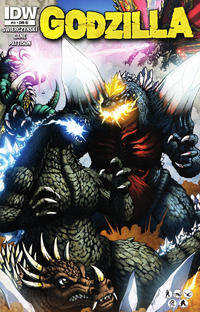 Cover for Godzilla (IDW, 2012 series) #11