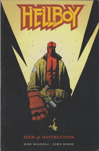 Cover Thumbnail for Hellboy (Dark Horse, 1994 series) #[1] - Seed of Destruction [2nd printing / 1st cover]
