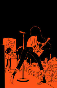Cover Thumbnail for Adventure Time: Marceline and the Scream Queens (Boom! Studios, 2012 series) #5 [Cover D - James Hindle]