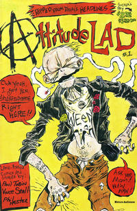 Cover Thumbnail for Attitude Lad (Caliber Press, 1992 series) #1