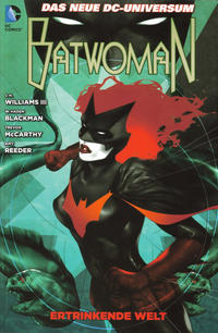 Cover Thumbnail for Batwoman (Panini Deutschland, 2012 series) #2 - Ertrinkende Welt