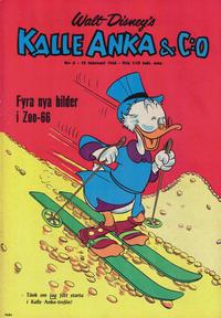 Cover Thumbnail for Kalle Anka & C:o (Hemmets Journal, 1957 series) #6/1966