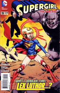 Cover Thumbnail for Supergirl (DC, 2011 series) #19 [Direct Sales]