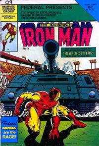 Cover Thumbnail for The Invincible Iron Man (Federal, 1985 ? series) #5
