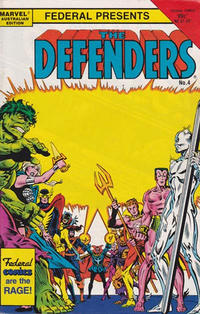 Cover Thumbnail for The Defenders (Federal, 1984 ? series) #4