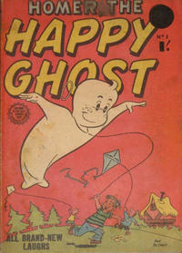 Cover Thumbnail for Homer, the Happy Ghost (Horwitz, 1956 ? series) #1