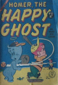 Cover Thumbnail for Homer, the Happy Ghost (Horwitz, 1956 ? series) #2