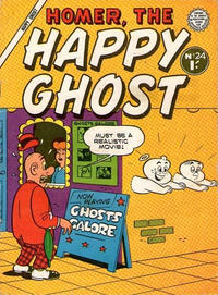 Cover Thumbnail for Homer, the Happy Ghost (Horwitz, 1956 ? series) #12