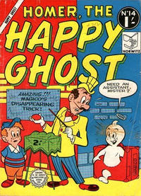 Cover Thumbnail for Homer, the Happy Ghost (Horwitz, 1956 ? series) #14