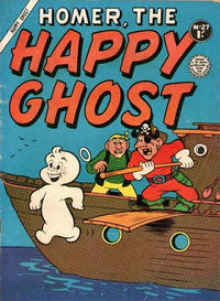 Cover Thumbnail for Homer, the Happy Ghost (Horwitz, 1956 ? series) #27