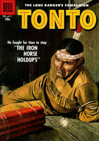 Cover Thumbnail for The Lone Ranger's Companion Tonto (Dell, 1951 series) #26 [15¢ edition]
