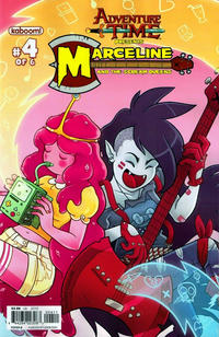 Cover Thumbnail for Adventure Time: Marceline and the Scream Queens (Boom! Studios, 2012 series) #4 [Cover B - Zack Sterling]