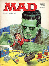 Cover Thumbnail for MAD (EC, 1952 series) #89 [25 c cover price]
