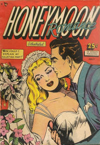 Cover Thumbnail for Honeymoon Romance (Comic Media, 1950 series) #2