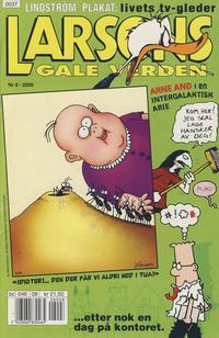 Cover Thumbnail for Larsons gale verden (Bladkompaniet / Schibsted, 1992 series) #8/2000