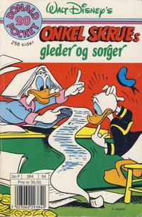 Cover Thumbnail for Donald Pocket (Hjemmet / Egmont, 1968 series) #20 - Onkel Skrues gleder og sorger [4. opplag]