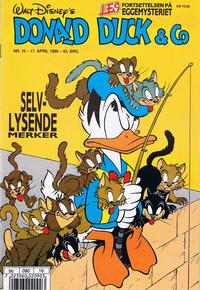 Cover Thumbnail for Donald Duck & Co (Hjemmet / Egmont, 1948 series) #16/1990