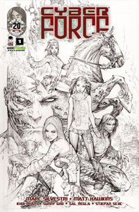 Cover Thumbnail for Cyber Force (Image, 2012 series) #1 [Cover B Kickstarter Exclusive]
