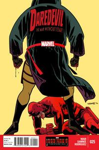 Cover for Daredevil (Marvel, 2011 series) #25 [Adam Kubert]