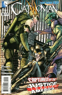 Cover Thumbnail for Catwoman (DC, 2011 series) #19