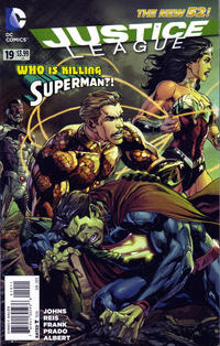 Cover Thumbnail for Justice League (DC, 2011 series) #19