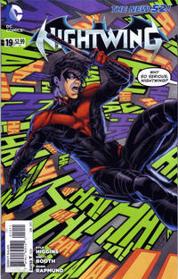 Cover Thumbnail for Nightwing (DC, 2011 series) #19