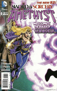 Cover Thumbnail for Sword of Sorcery (DC, 2012 series) #7