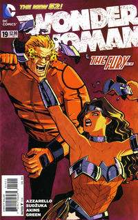 Cover Thumbnail for Wonder Woman (DC, 2011 series) #19