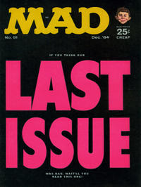 Cover Thumbnail for MAD (EC, 1952 series) #91 [25¢]