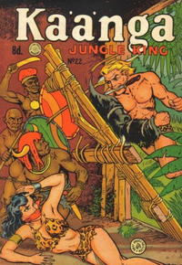 Cover Thumbnail for Kaänga Comics (H. John Edwards, 1950 ? series) #22