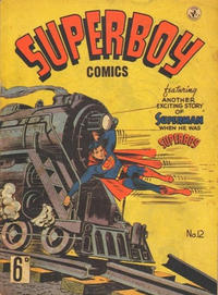 Cover Thumbnail for Superboy (K. G. Murray, 1949 series) #12