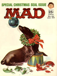 Cover Thumbnail for MAD (EC, 1952 series) #84 [25¢]