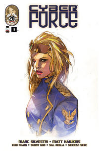 Cover Thumbnail for Cyber Force (Image, 2012 series) #1 [Cover C by Marc Silvestri]