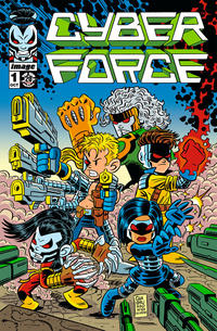 Cover Thumbnail for Cyber Force (Image, 2012 series) #1 [Cover E by Chris Giarrusso ]