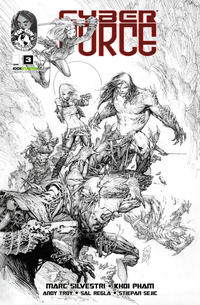 Cover Thumbnail for Cyber Force (Image, 2012 series) #3 [Cover B Kickstarter Exclusive]