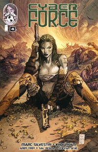 Cover Thumbnail for Cyber Force (Image, 2012 series) #4 [Cover A]