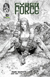 Cover Thumbnail for Cyber Force (Image, 2012 series) #4 [Cover B Kickstarter Exclusive]