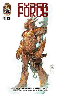 Cover Thumbnail for Cyber Force (Image, 2012 series) #2 [Cover C by Marc Silvestri]
