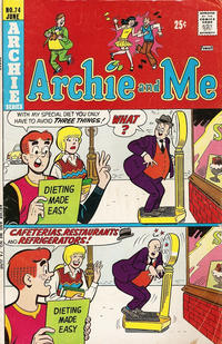 Cover Thumbnail for Archie and Me (Archie, 1964 series) #74