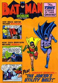 Cover Thumbnail for Batman [Golden Story Teller Record Comic] (DC, 1966 series) #[nn]
