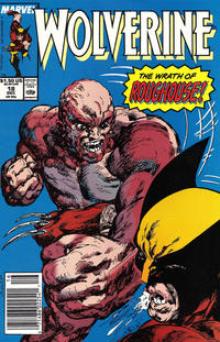 Cover for Wolverine (Marvel, 1988 series) #18 [Direct Edition]